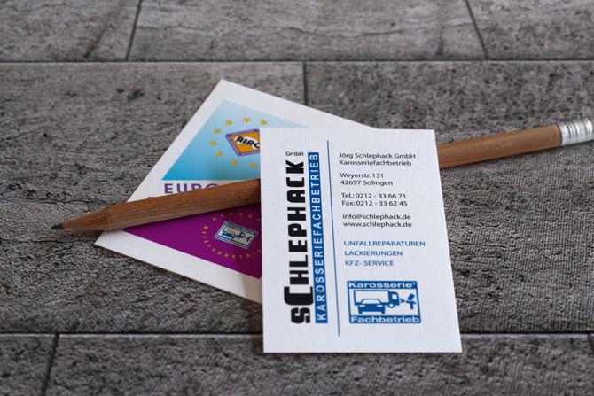 Schlephack Lemke Visitenkarten